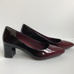 Rockport truetech total motion patent leather 8